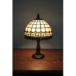 Piękna Lampa Witrażowa w Stylu Tiffany