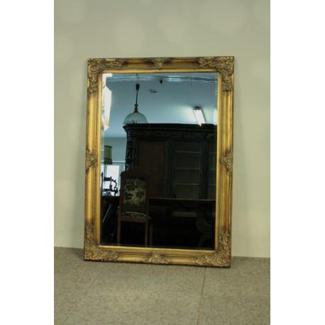Złote Lustro - Fazowana Tafla 106 cm x 76 cm.