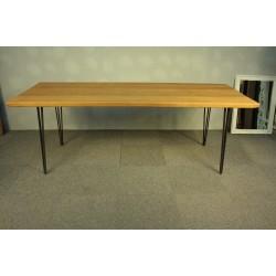 Duży Stół - Dąb i Stal. Wyjątkowy Design-Loft !