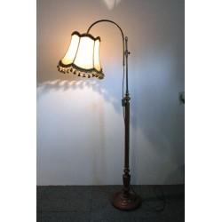 Stylowa Lampa Podłogowa z Abażurem