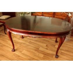 Owalny Stół na Szponach - Rozkładany