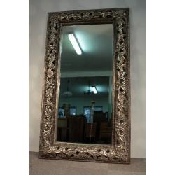 Imponujące Lustro w Srebrnej Ramie 232cm x 132cm
